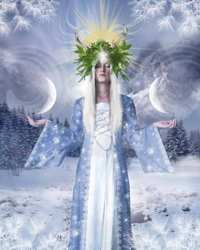 goddess, winter